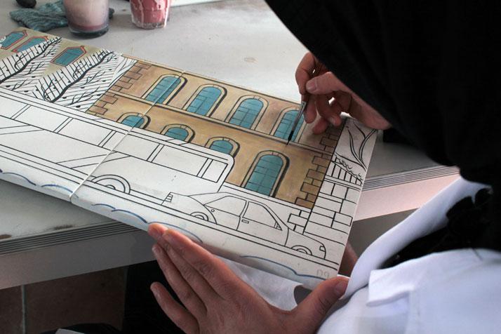 The art of making Iznik tiles photo © Costas Voyatzis for Yatzer.com