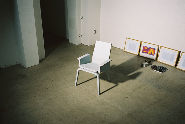 Chair and Lamp by Eddi Törnberg (inspiration)The matter of symbiosisMeasurements // l 500 × w 700 × h 1000 mmphoto © Beckmans College of Design