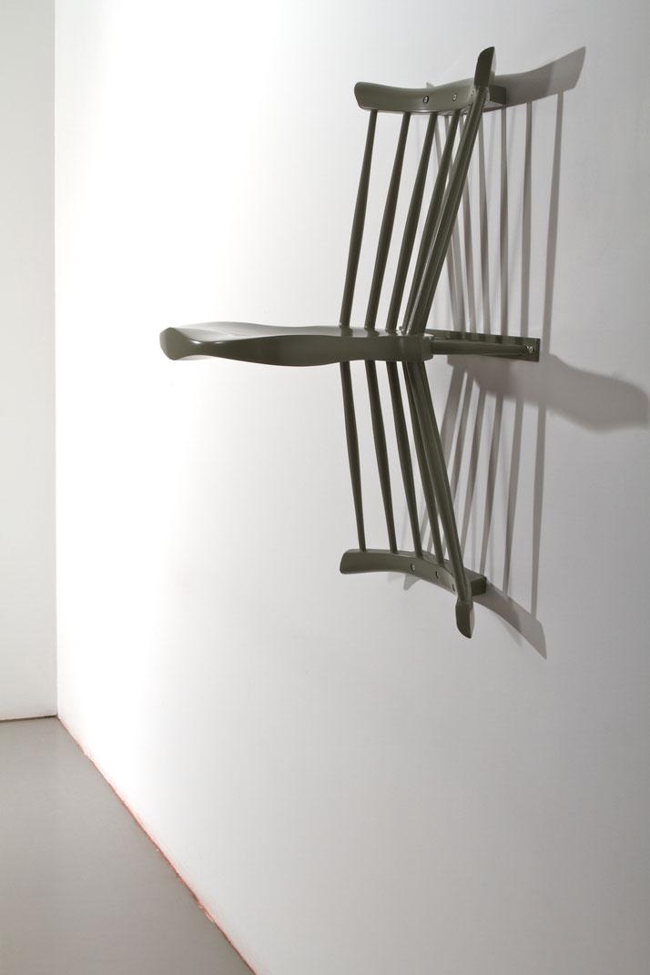 Chair by Gustav CarlbergThe matter of perspectiveMeasurements // l 540 × w 450 × h 800 mmphoto © Beckmans College of Design