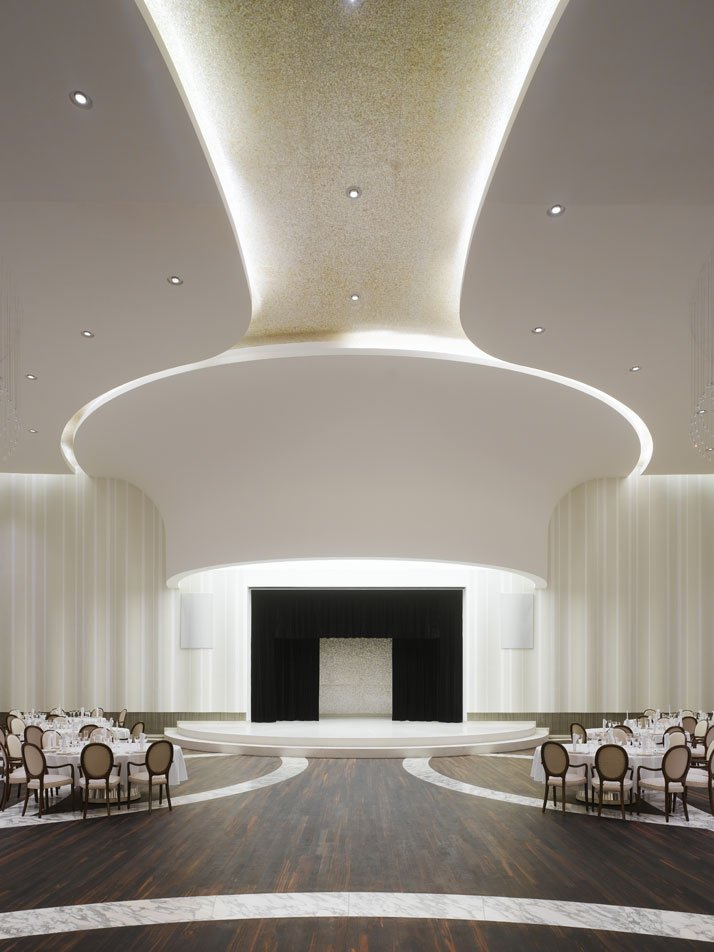Palace of international forums uzbekistan by ippolito for International decor false ceiling