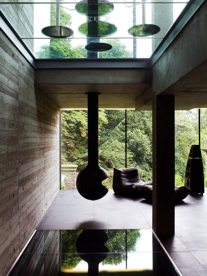the graveyard house by eldridge smerin architects yatzer. Black Bedroom Furniture Sets. Home Design Ideas