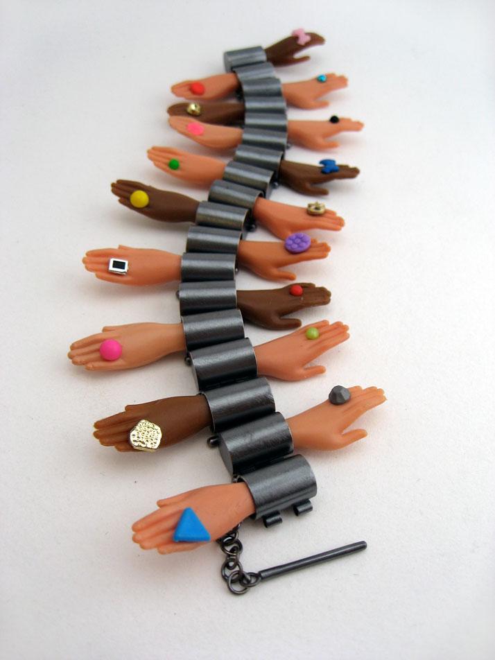 Hand Hinge Bracelet, photo © Margaux Lange