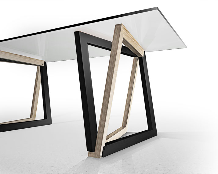 QuaDror TABLE, Image Courtesy of Studio Dror