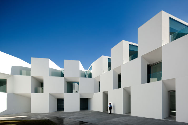 The nursing home of aires mateus architects through the Nursing home architecture