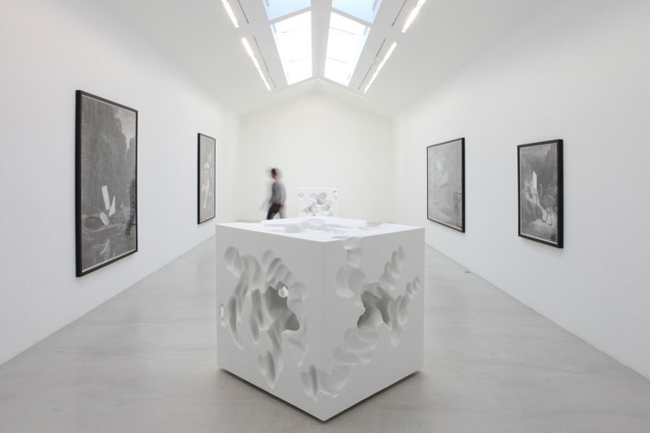 Daniel ArshamView of the exhibition Animal Architecture at Galerie Perrotin, Paris, 2010Courtesy Galerie Perrotin, Paris