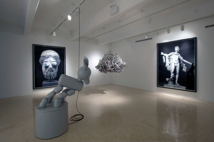 Daniel ArshamView of the exhibition Alter at Galerie Perrotin, Miami, 2010Courtesy Galerie Perrotin, Paris