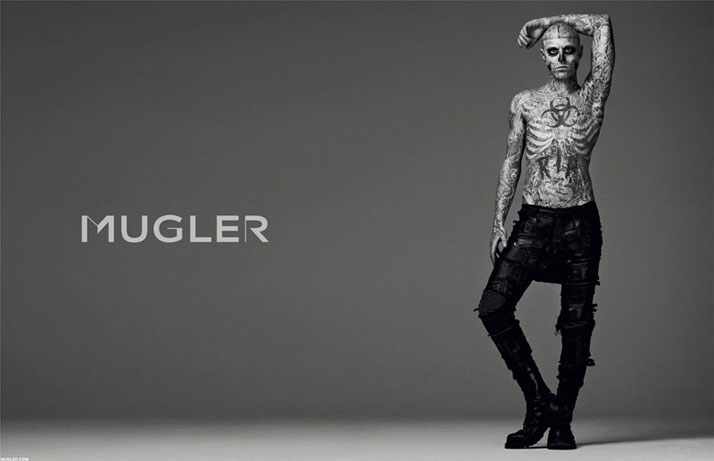 photo by Mariano Vivanco, styling Nicola Formichetti, photo retouch by Chris Roome of Happy Finish // Courtesy of MUGLER
