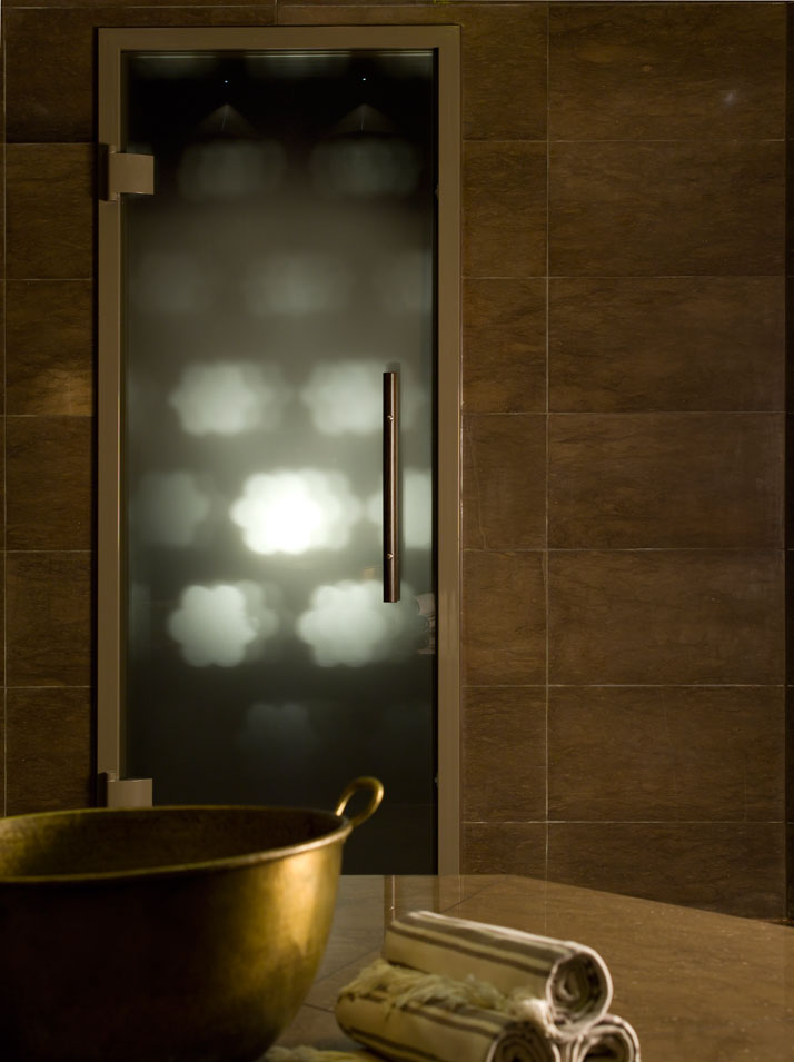 Hammam Steam Room Door //  // Image Courtesy of ESPA, Istanbul EDITION Hotel