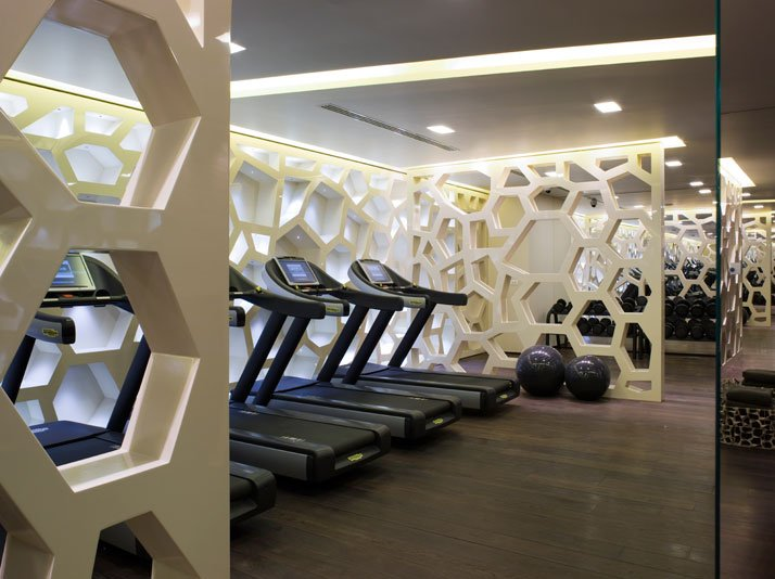 Fitness Center //  // Image Courtesy of ESPA, Istanbul EDITION Hotel