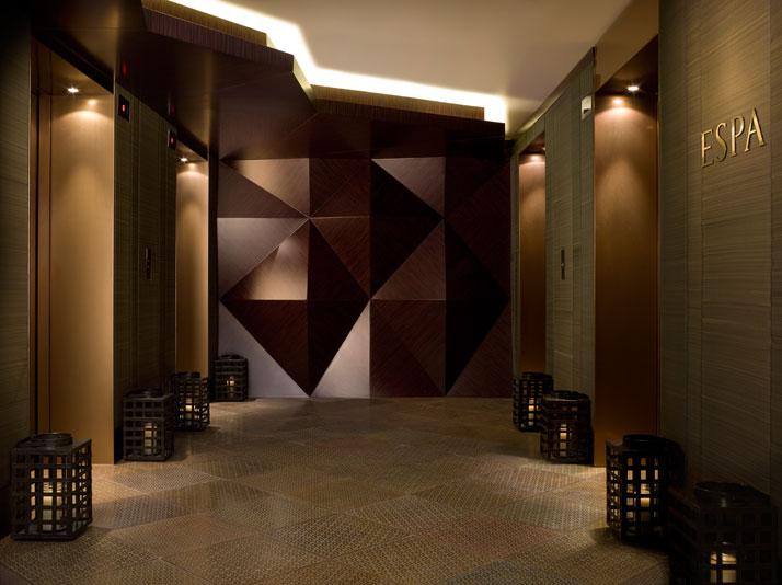 Entrance Elevator Lobby // Image Courtesy of ESPA, Istanbul EDITION Hotel