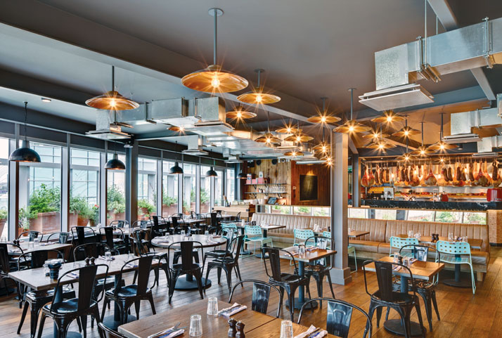 jamie oliver | gatwick airport – take on classic diner/fast food