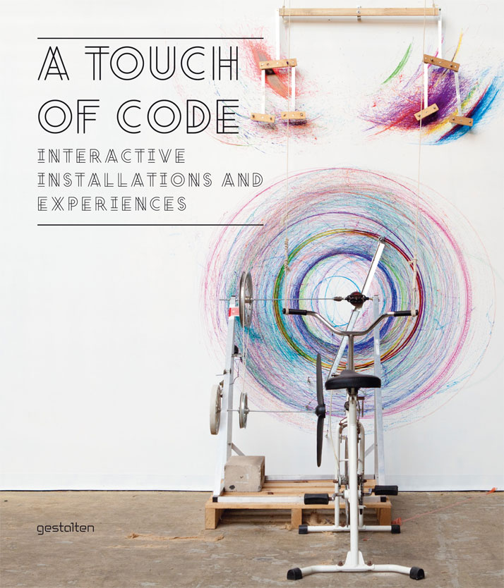 Book cover ''A Touch of Code'', Copyright Gestalten 2011