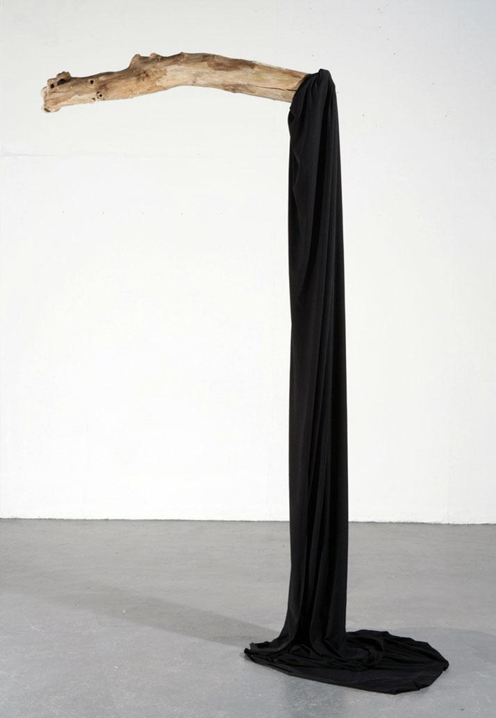 Witness. Wood, fabric, metal. 2007 //  © Dexter Dymoke