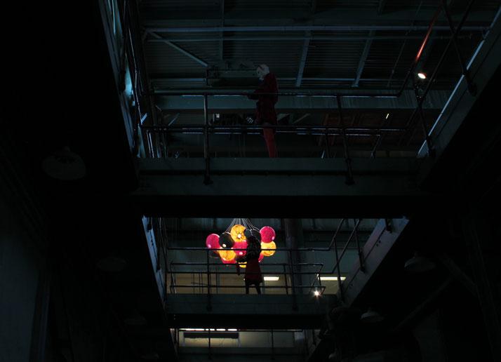 Installation during DesignMarch 2011, Image Courtesy of Yatzer.com