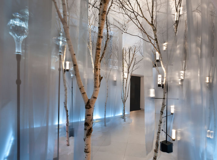 Installation view in  Palazzo Morando, Milan 2011 photo © Simona Pesarini image Courtesy of Baccarat