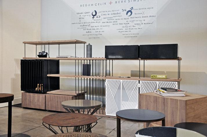 GOTWOB furniture series by Begum Celik and Berk Simsek