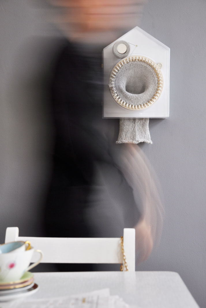 365 Knitting Clock by Siren Elise Wilhelmsen