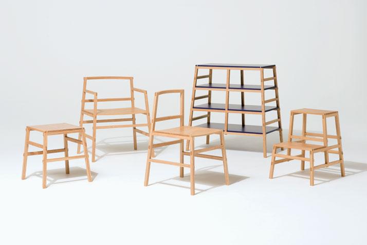 TENON furniture series by Yota Kakuda, photo by Kazunobu Yamada