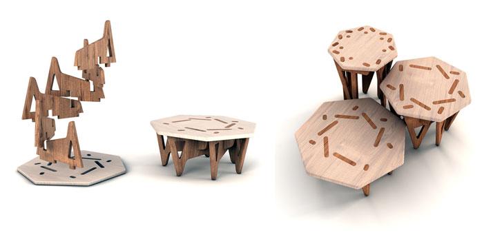 ETAtrio by en&is design studio