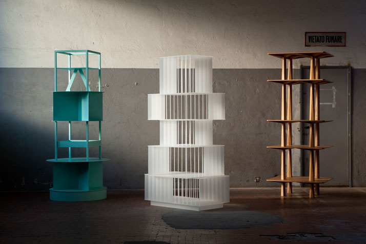 Laveer, Calico and Centina Totems by OEUFFICE