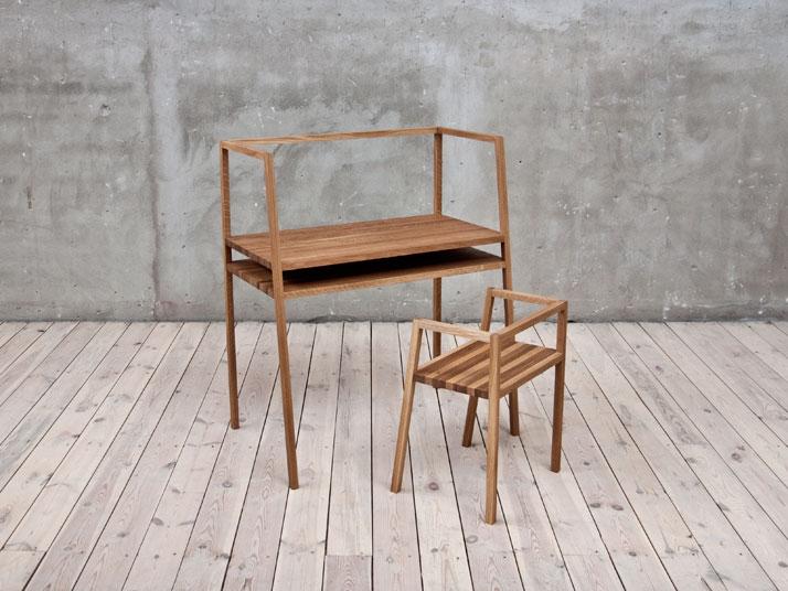 Desk // Framework for ideas. Image Courtesy of Oak.