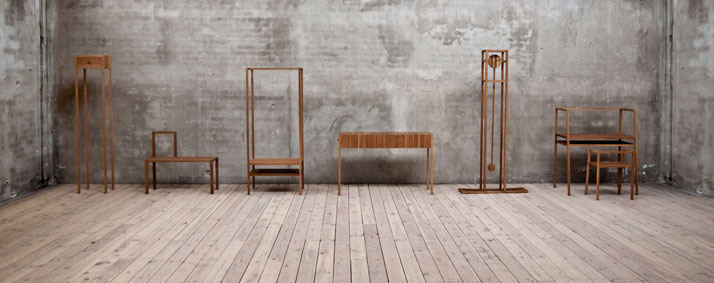 Wardrobe // Reflects the character of it's user. Image Courtesy of Oak.