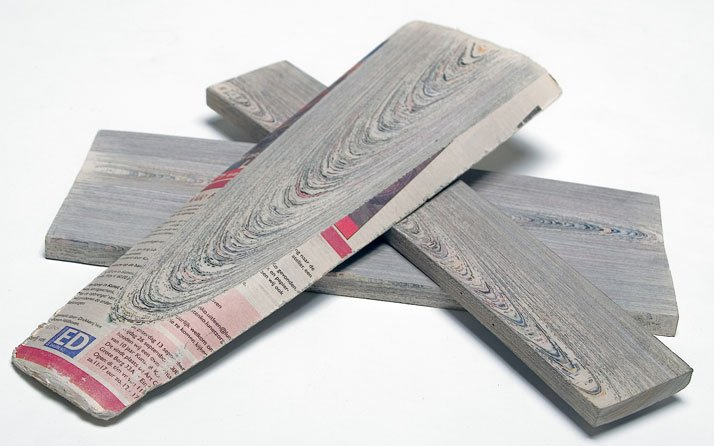 Discover a new material: NewspaperWood