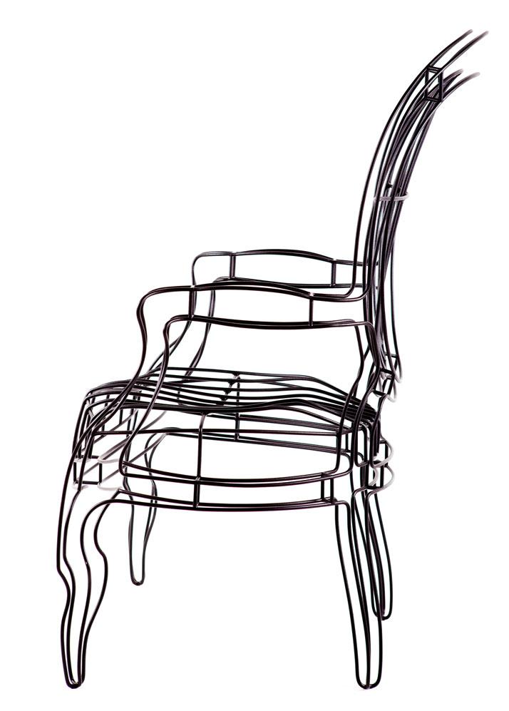 Louis Chair, photo by Kristina Hrabetova