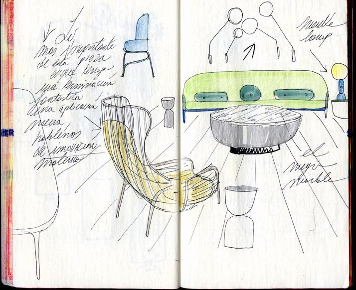 Sé-London sketch © Jaime Hayon