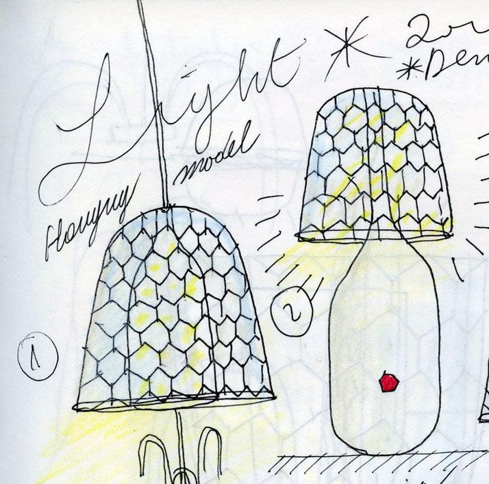 Candy Light sketch © Jaime Hayon