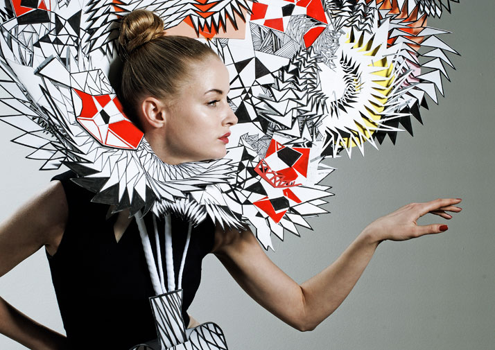 Alithia Spuri-Zampetti, S/S 2009, photo: Bruce Robinson