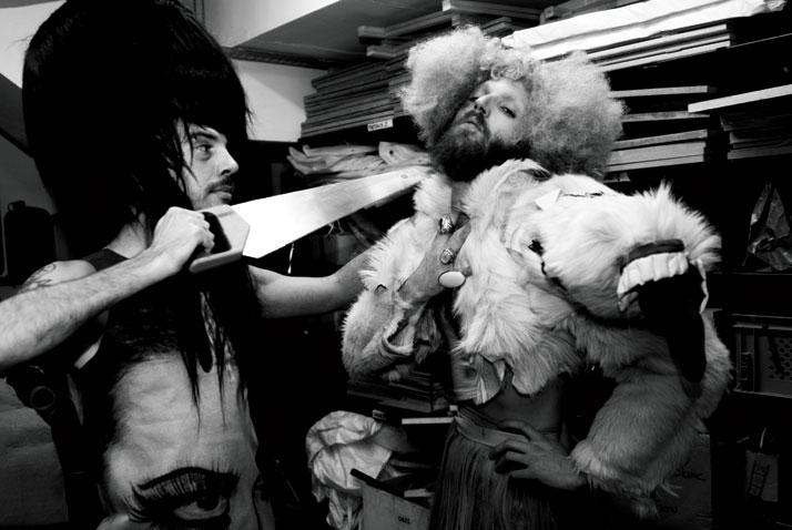 Charlie Le Mindu + ATOPOS cvc, Atopic Bodies [THREE]: 'The Leiotrichous Tribe', 2011, © photo: Ioanna Theodorakou