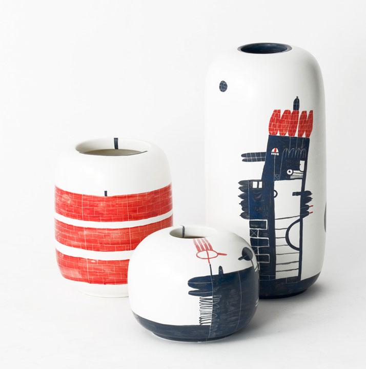 photo © RenéeRossouwPattern Diary - Renée Rossouw // Collaboration with Bosa Ceramiche, Italy, Directed By Jaime Hayon & Matteo Zorzenoni
