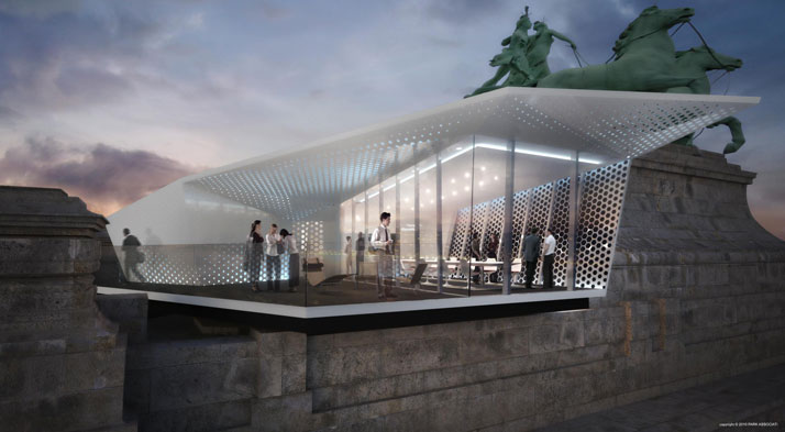 Rendering of The CUBE by Electrolux © Park Associati, Milano
