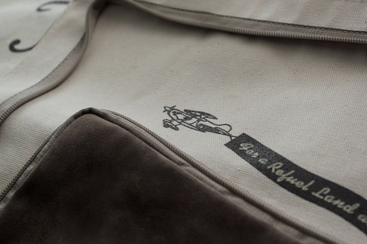Kiehl's tote bag (detail), photo @ Costas Voyatzis for Yatzer.com