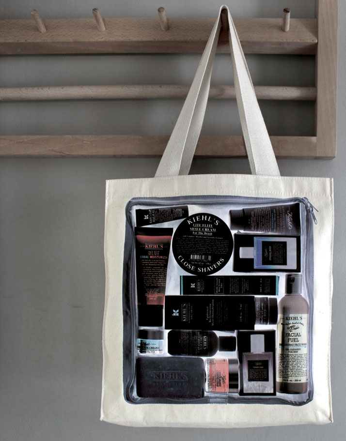 Kiehl's tote bag, photo @ Costas Voyatzis for Yatzer.com