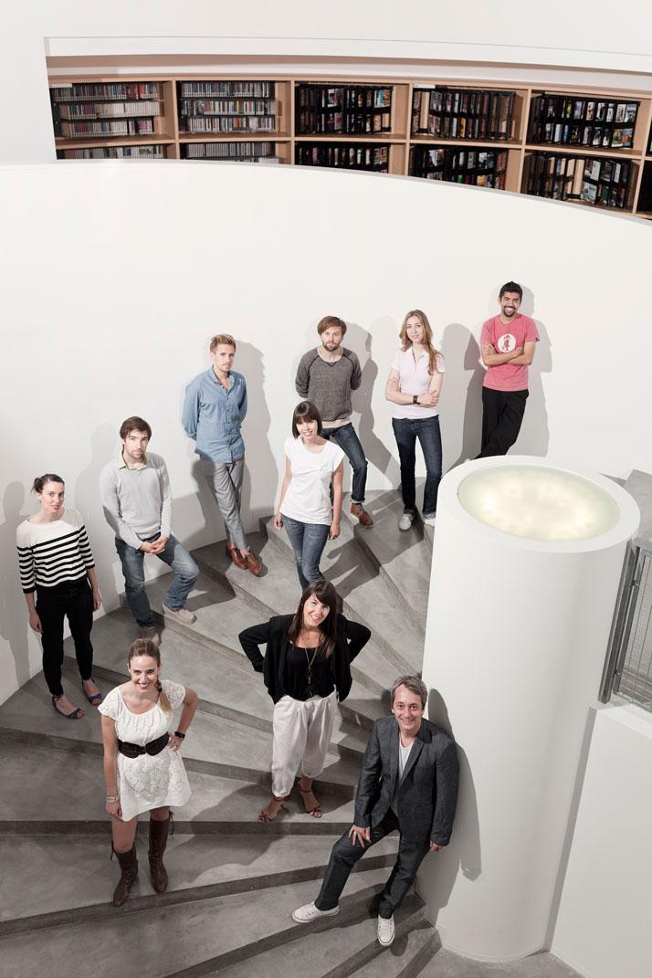Fabrica Design Team photo by Mauro Bedoni/Fabrica