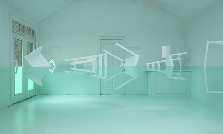 Kyung Woo Han - Green House, 2010 Courtesy of Gazelli Art House