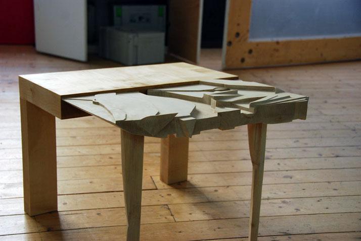 b-side table, photo © Beta Tank