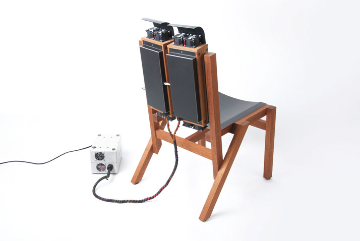 Mind Chair, Working Prototype, © Beta Tank, 2008Book-spread, Courtesy of Gestalten
