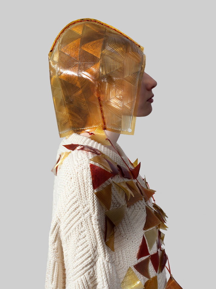Jane Bowler, UK (Textile Designer) 'Fusion – an extension' photo © Lonneke van der Palen
