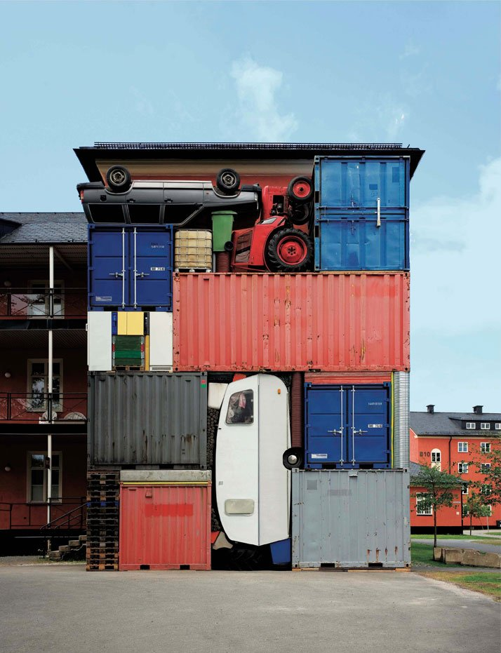 Residuos percolados containers habitables for Containers habitables