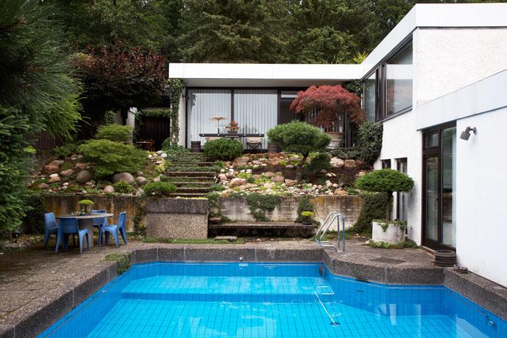 Dieter Rams garden by Philip Sinden