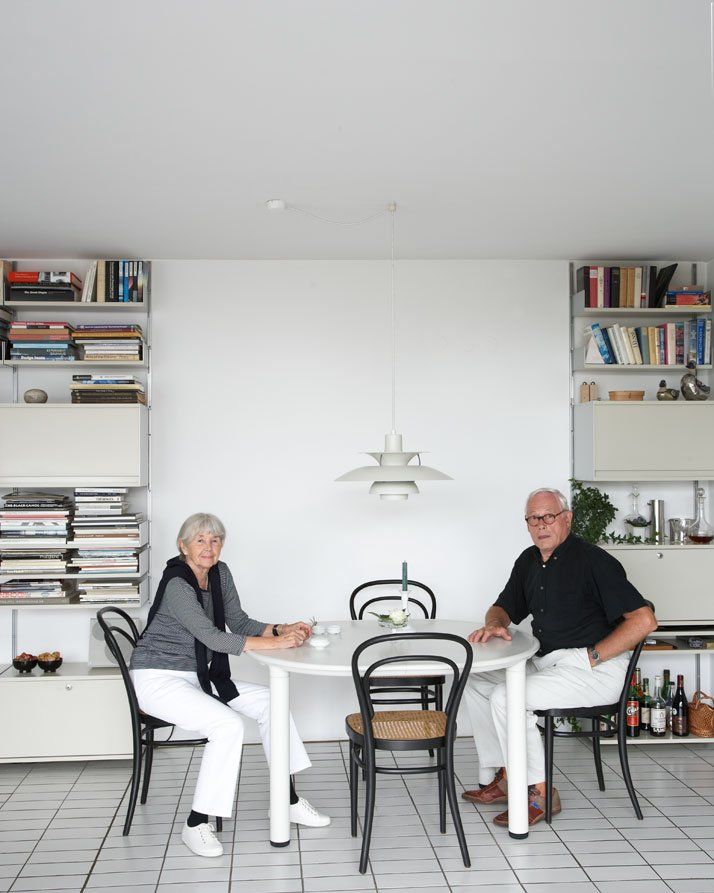 Ingeborg Kracht-Rams and Dieter Rams  by Philip Sinden
