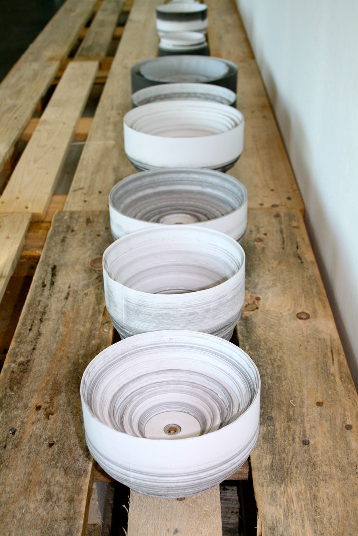 Thermal Till Paper Vessel project, photo © Philippe Malouin