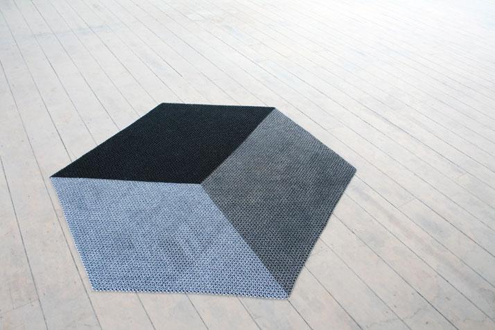 Yachiyo metal rug, photo © Philippe Malouin