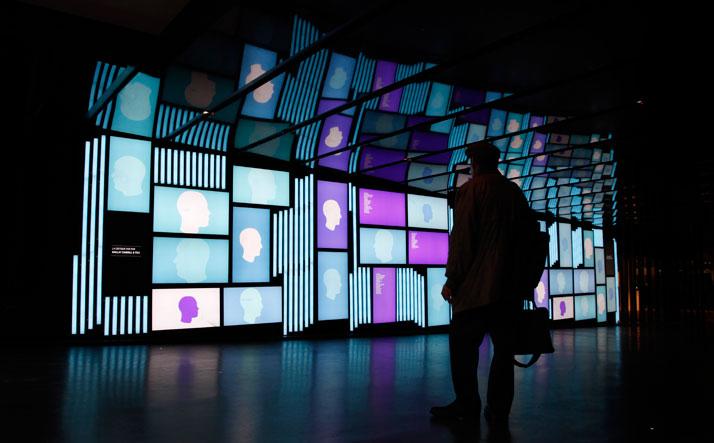 Foyer Des Arts Lux : V o w n° video installation feel desain