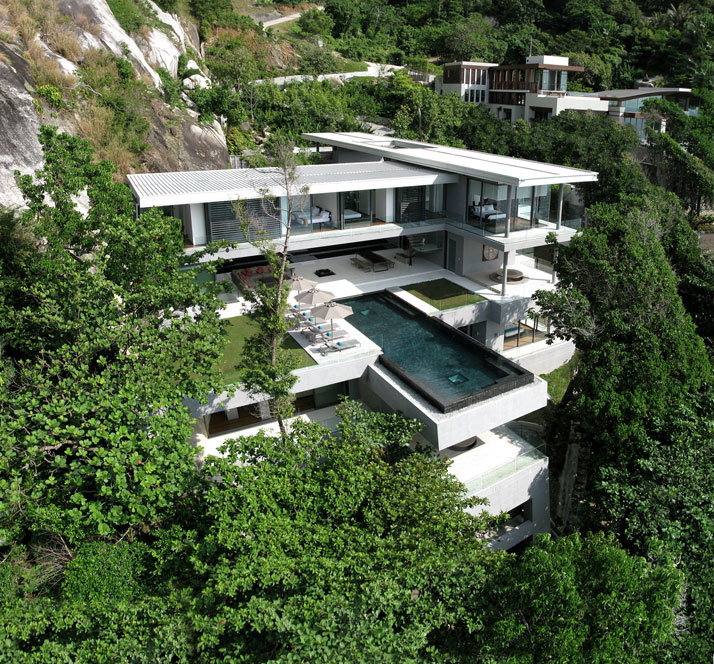 Villa Amanzi in Phuket, Thailand Image Courtesy of Welcome Beyond