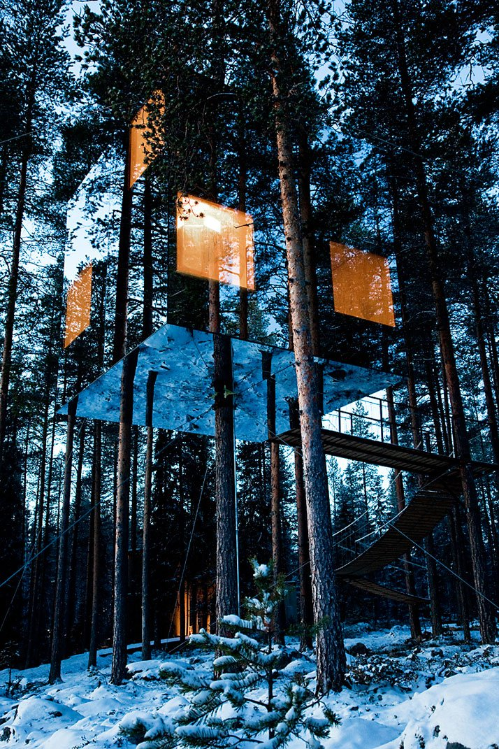 Treehotel in North Sweden, Sweden Image Courtesy of Welcome Beyond