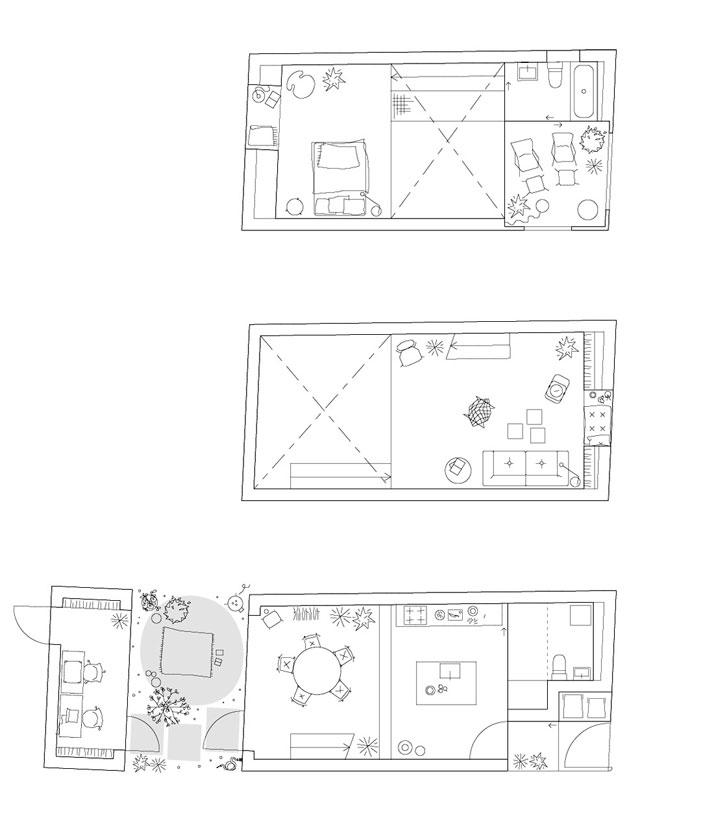 floor plan © Elding Oscarson
